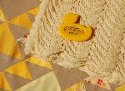 Vlnkovaná deka | PLETENÍ – NÁVODY