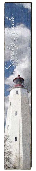 Sandy Hook Lighthouse Milled Wood Art