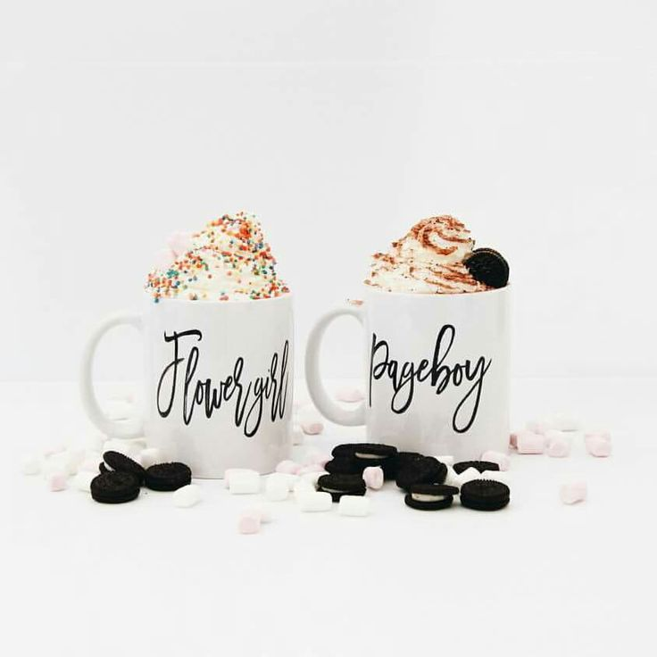 Flower girl and Page boy - mugs