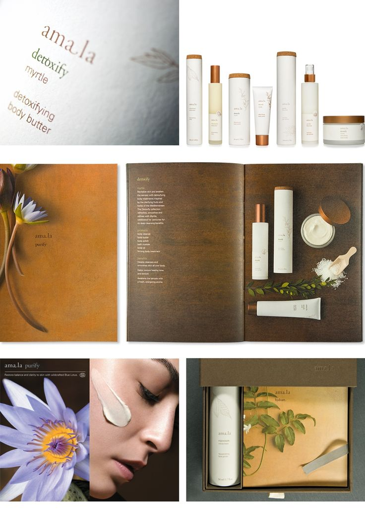 Amala Brand Identity, Packaging, and Brochure | Liska + Associates