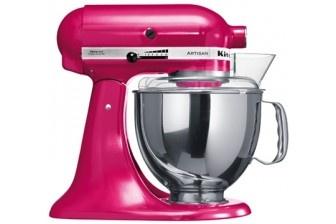 A raspberry coloured KitchenAid! I would call her Magenta.