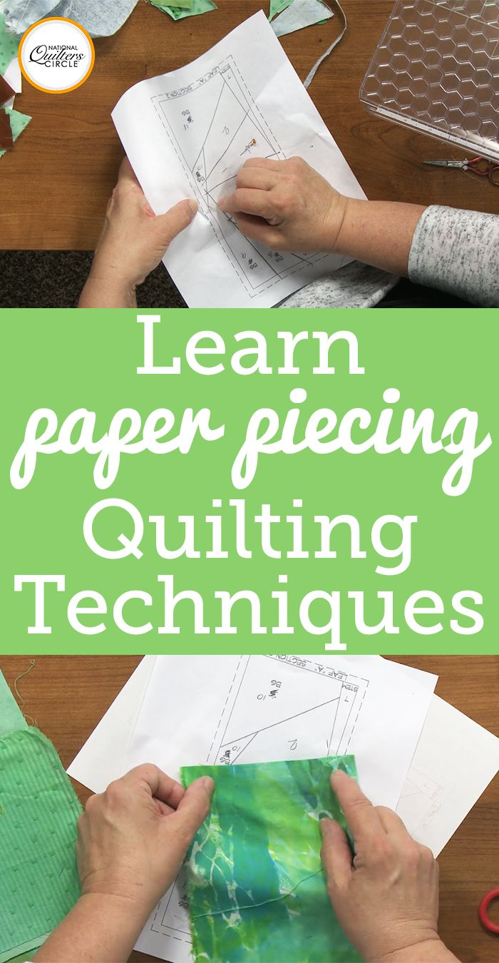 When it comes to putting together a paper pieced block, it is important to understand how the block is designed before you attempt to stitch it. Heather explains how a paper piecing block is laid out, what all of the different sections mean and where to start. She also gives tips on how to label each section so you know what color of fabric needs to go where. She also explains why certain designs are made into paper piecing patterns versus regular piecing patterns and what kinds of design…