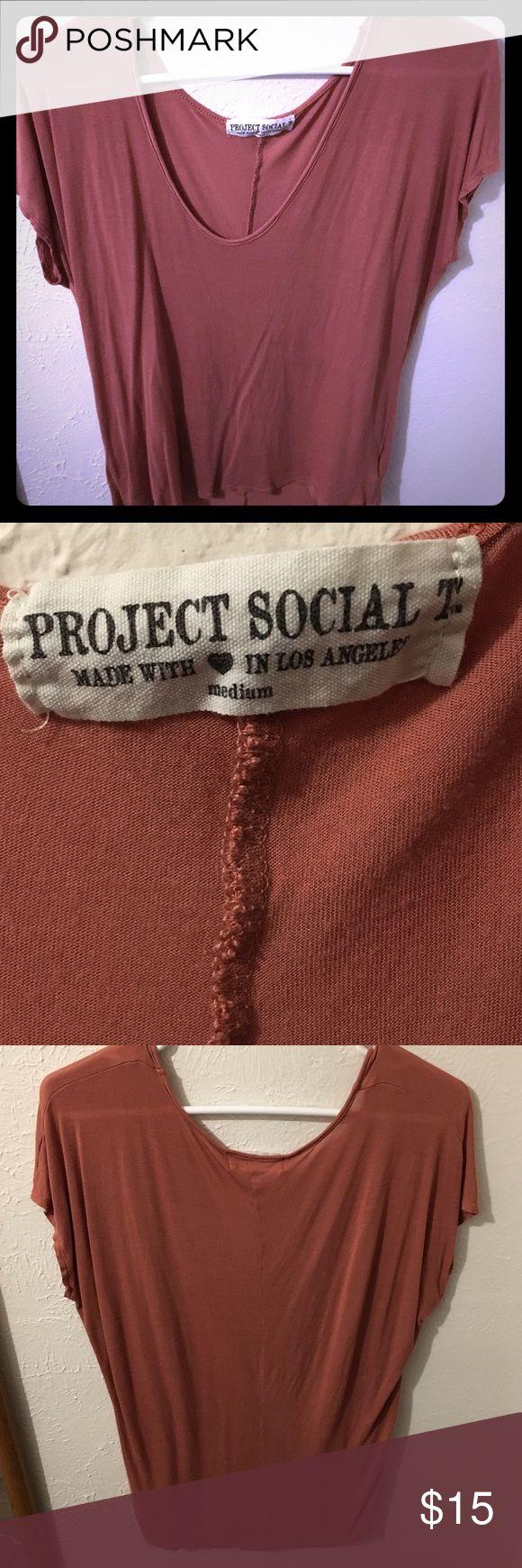 Burnt Orange Tee Project Social T Tee Project Social T Tops