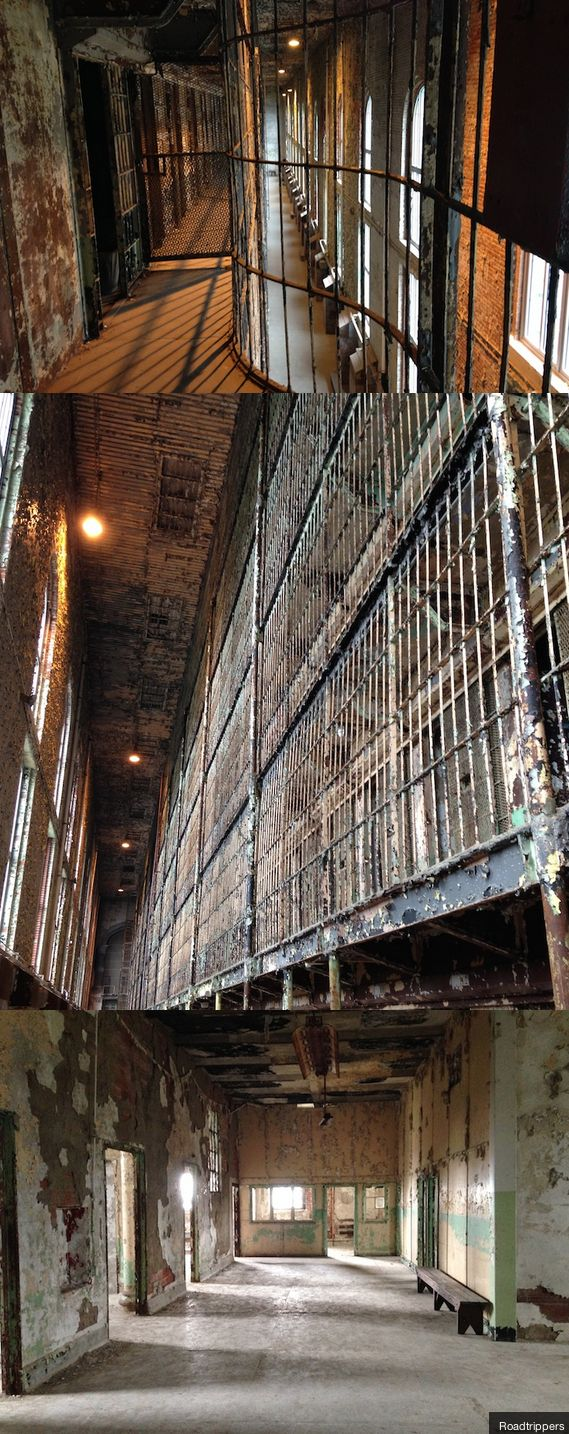 The old Ohio State Reformatory is legendary and it is open for tours!