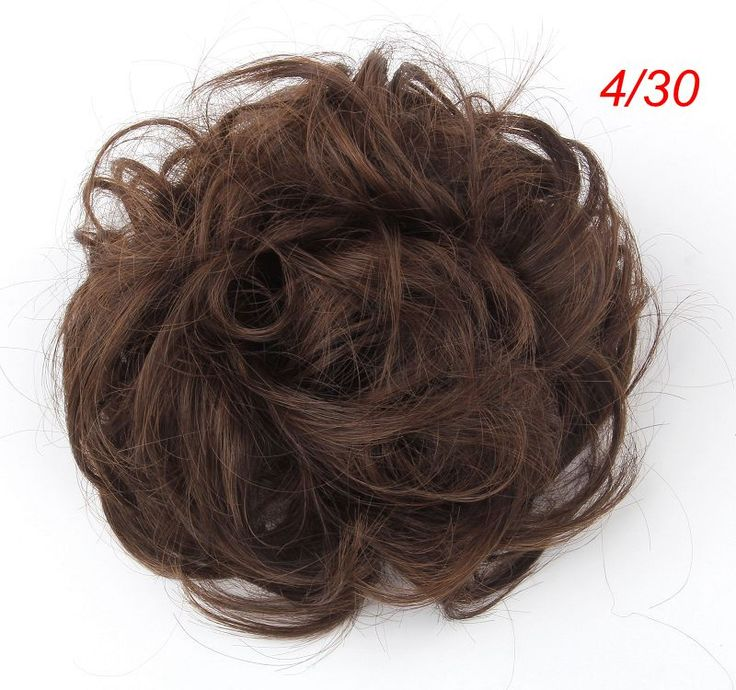 Synthetic chignon hair pieces bun 4/33 chignon bun maker