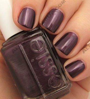 Essie color…Damsel in a Dress. Great purple color for the winter…need this!