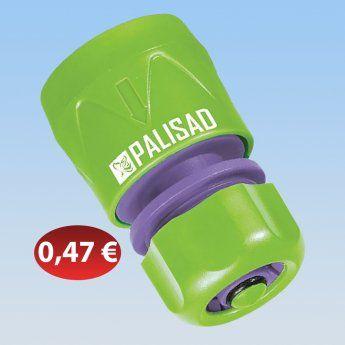 30604032 Ταχυσύνδεσμος λάστιχου 1/2 με στοπ 0,47 €-Ευρω