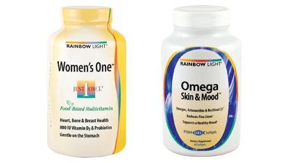 Women's one by rainblow light. Might need to buy this. multivitamin. Apparently it's free to all the normal garbage that a lot of cheap supplements have
