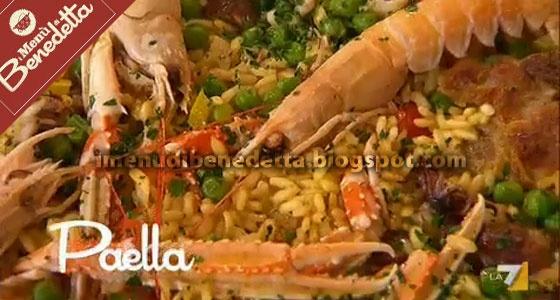 Paella   la ricetta di I Menu di Benedetta