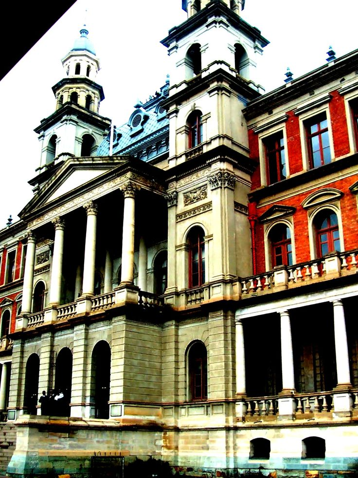 Courthouse in which Nelson Mandala was Convicted - Church Square - Pretoria, South africa