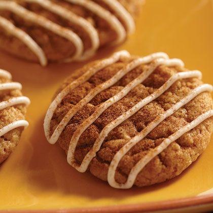 Pumpkin and Cream Cheese Cookies