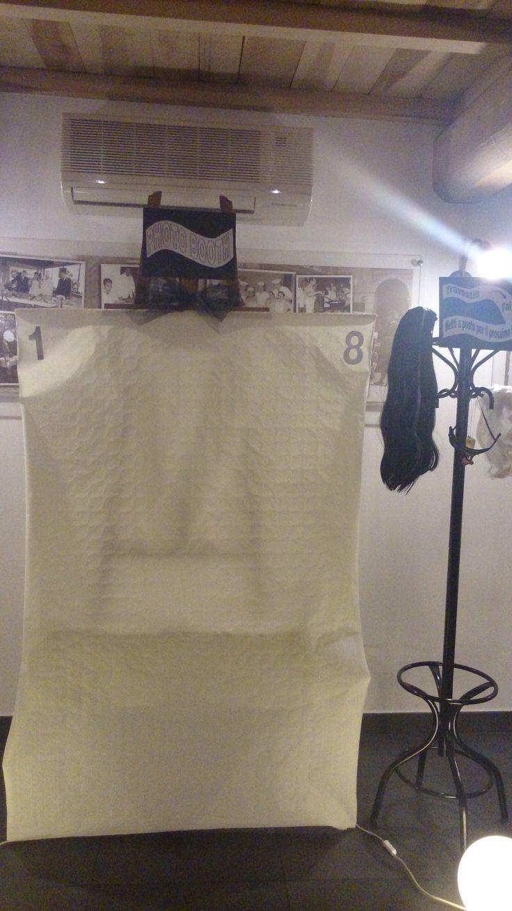 Photo Booth per Festa a Tema Black & White di #DedicatoAte