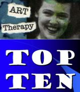 """""""The Ten Coolest Art Therapy Interventions"""" - links to all 10, with good Psychology Today info"""