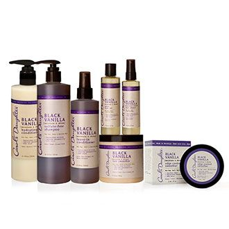 Day 25 of 30 Carol's Daughter Black Vanilla Moisture & Shine Hair Collection  Leave-In Conditioner Pure Hair Oil Sulfate-Free Shampoo Hydrating Conditioner Hair Smoothie Edge Control Hair Sheen 2 PRIZE PACKAGES VALUED AT $77.00 EACH
