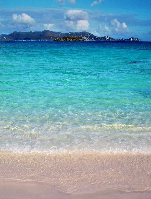 Sapphire Water, Sapphire Beach,  St Thomas, US Virgin Islands Copyright: Colin Bosch
