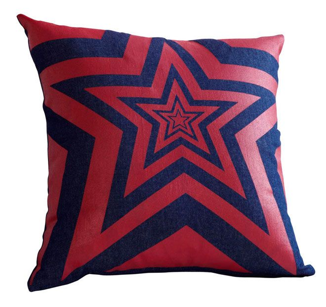 Lilly and Lolly Zane Star 45x45cm Filled Cushion