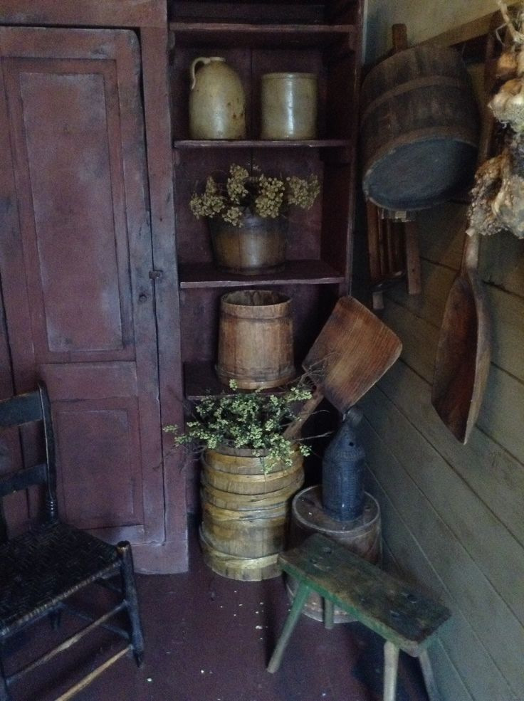 Nice primitive collection & display. Love it.