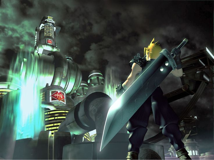 Details about Final Fantasy VII HUGE Poster ( 34 inch x 22 inch ) FAST SHIPPING 101