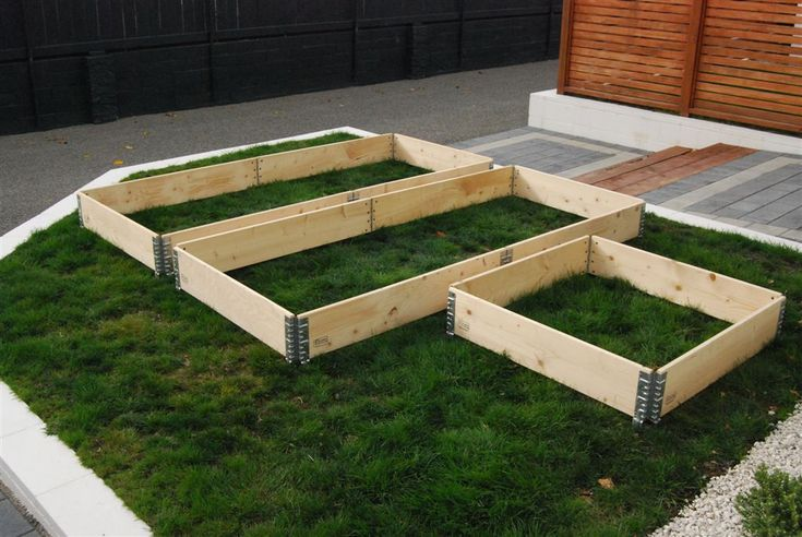 Our Garden Collars are super affordable modular raised garden beds that can be…