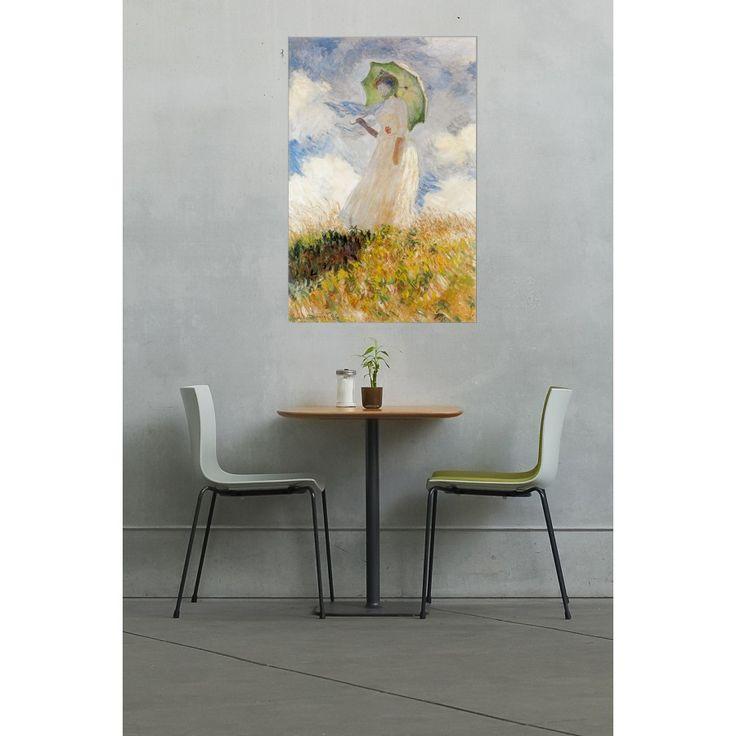 MONET - LADY WITH UMBRELLA 92x140 cm #artprints #interior #design #art #prints #Monet  Scopri Descrizione e Prezzo http://www.artopweb.com/autori/claude-monet/EC16937