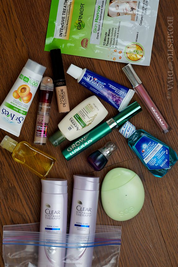 Travel Makeup Tips:  What Essentials to Pack in your Liquid Bag for Your Carry-on Bag