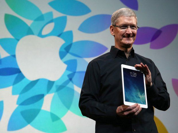 Presenting the iPad Air: It's thin, light and 'screaming fast,' Apple says