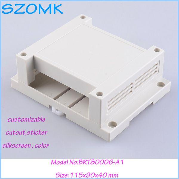 enclosures for electronics plastic case (10pcs)115*90*40mm electrical box plastic industrial box electronic din rail project box #Affiliate