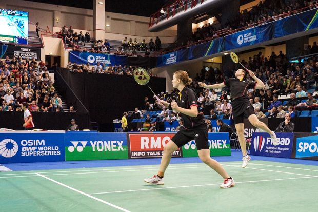 Sony Alpha 99 test terrain Yonex Internationaux de France de Badminton