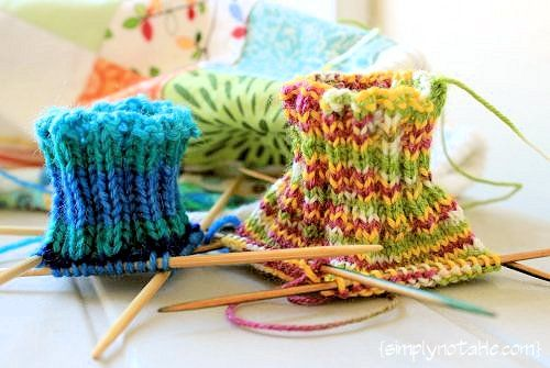 Knitting Tube Socks with Afterthought Heels: Socktubes21 Jpg 500 335, Wool Socks, Crafts Tube Socks, Simply Notabl, Things Socks, Socks Knits, Afterthought Heels, Knits Socks