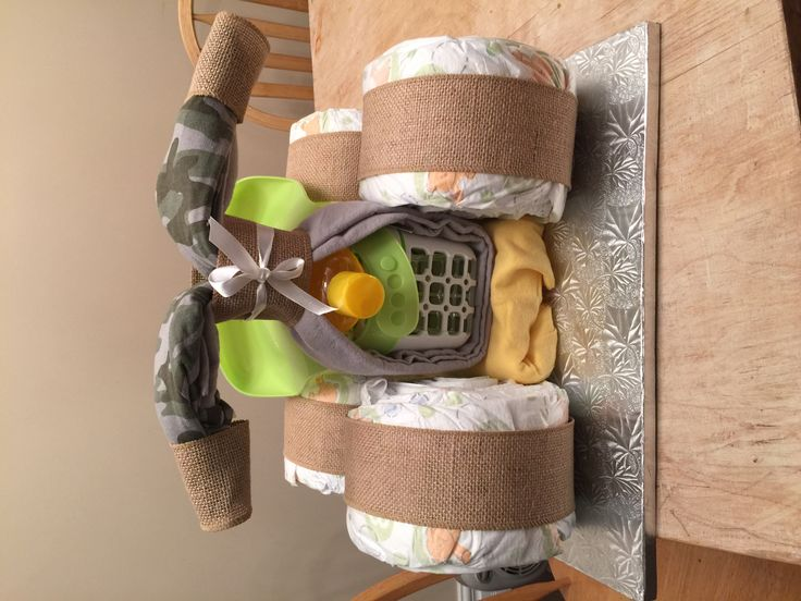 4-wheeler diaper cake