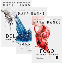 Românticos e Eróticos  Book: Maya Banks - Breathless #1 a #3
