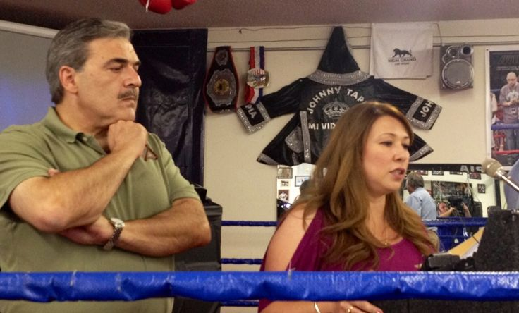 Johnny Tapia Overdose | Tapia, right, and Dr. Sam Kassicieh announced that boxer Johnny Tapia ...