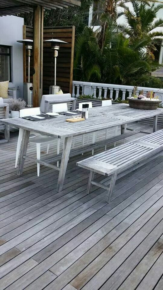 Weathered Coral range of outdoor furniture by Bloc Outdoor