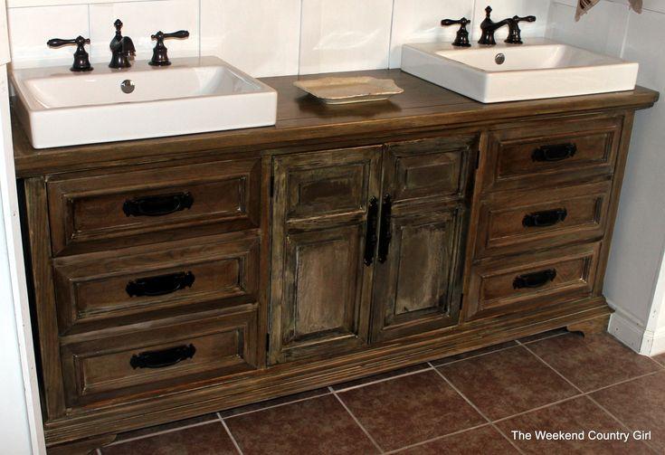 25 Best Ideas About Country Bathroom Vanities On: Best 25+ Dresser Vanity Ideas On Pinterest