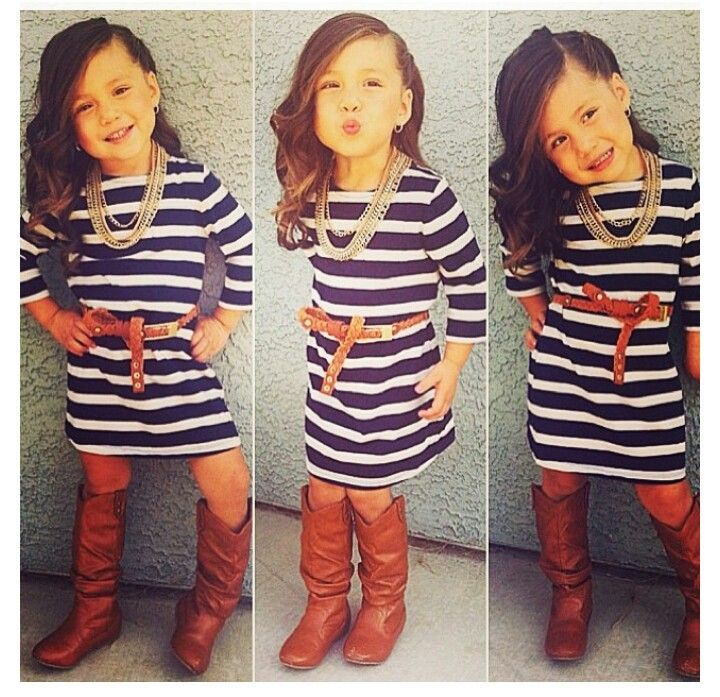 Kid Fashion. Oh so sassyyy. this will definitely be what my girl will be like.