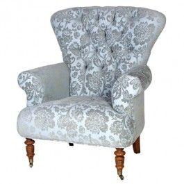 Blue Chatsworth Armchair £575