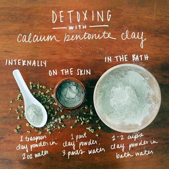 How To Detoxify With Calcium Bentonite Clay | Free People Blog #freepeople