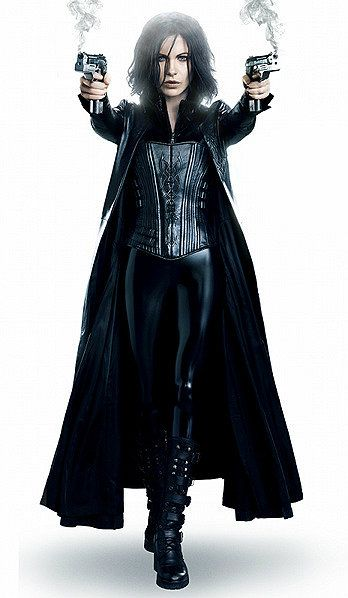 Celiana's Business Wear  Leather Trench-coat Black Armor-weave Corset Black Synth-Leather Bodysuit Black Combat Boots