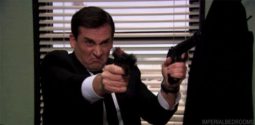 "If you know all that, there's a chance you know that for 11 years, Michael was working on an action/adventure movie, Threat Level Midnight. | Community Post: The One Thing You Never Noticed In ""The Office"""