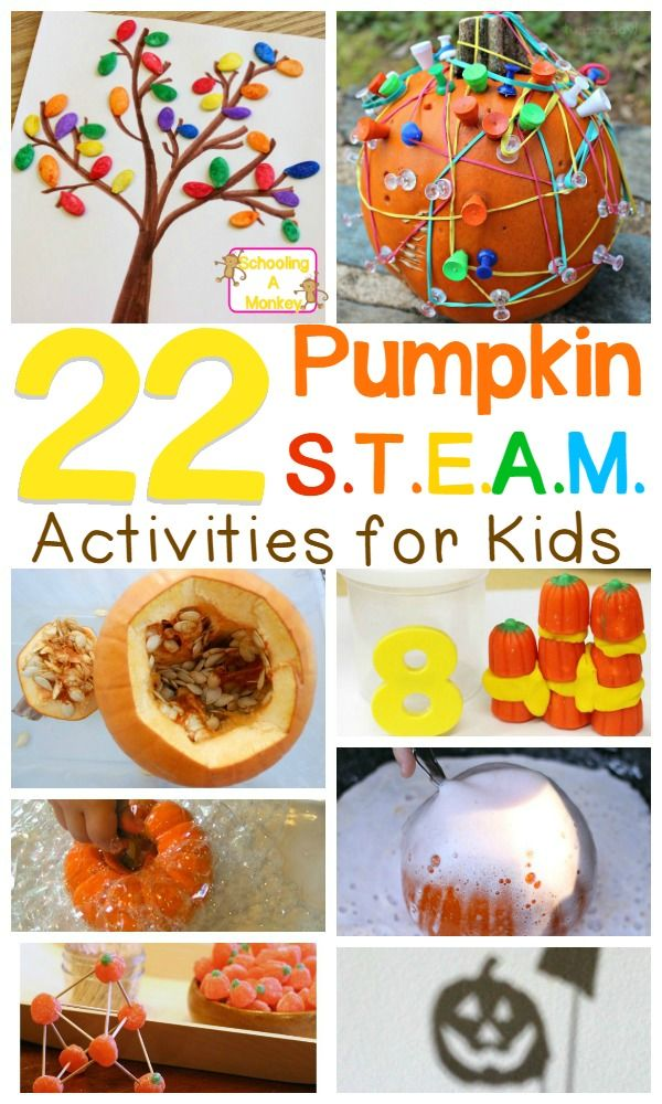 Bring fall pumpkins into the classroom or your homeschool with this STEAM-focuse... 2