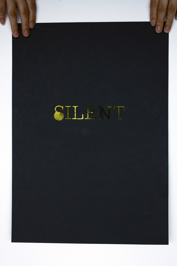 Silent by Jun Kim, via Behance