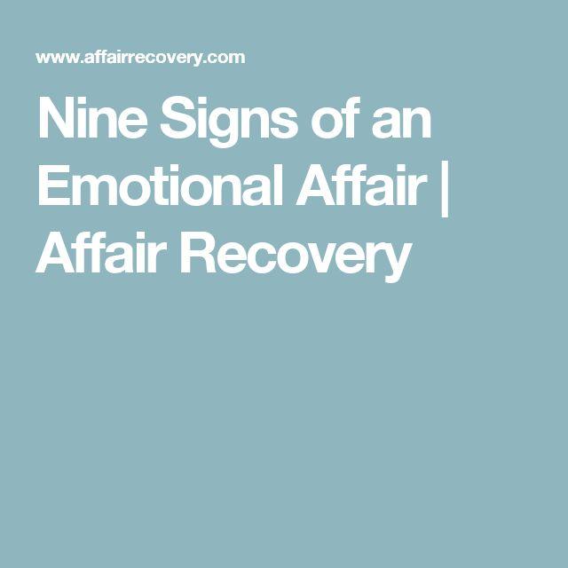 Nine Signs of an Emotional Affair | Affair Recovery