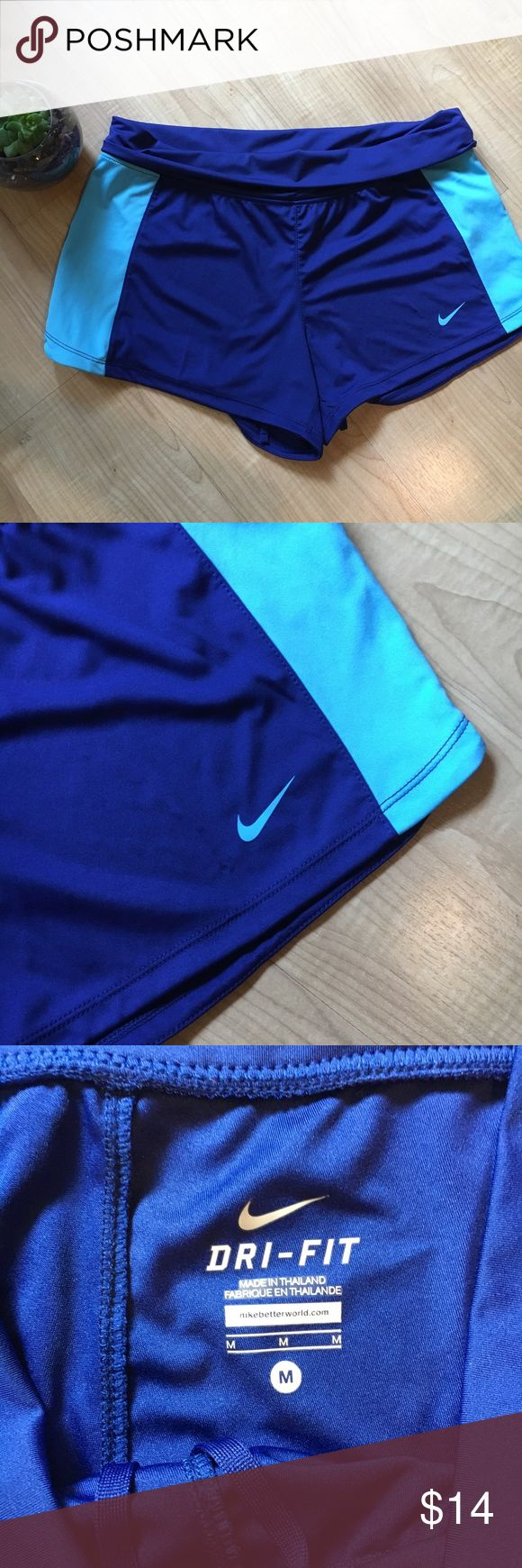 Nike Dri Fit Work Out Shorts Comfy Nike Dri Fit Shorts perfect for working out or running! Size Medium Nike Shorts