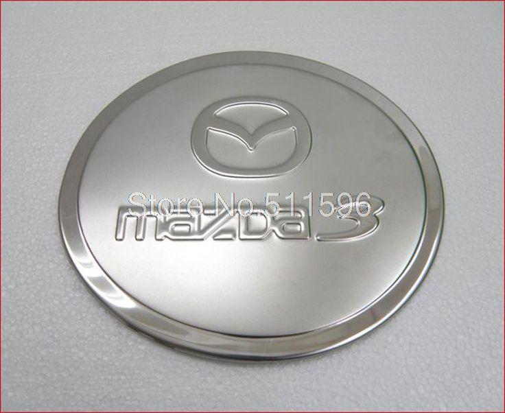 Для Mazda 3 2009 2010 нержавеющая сталь мазут газ контейнер крышка кепка отделка автоматический газ кепка масло контейнер планки украшение 1 шт.