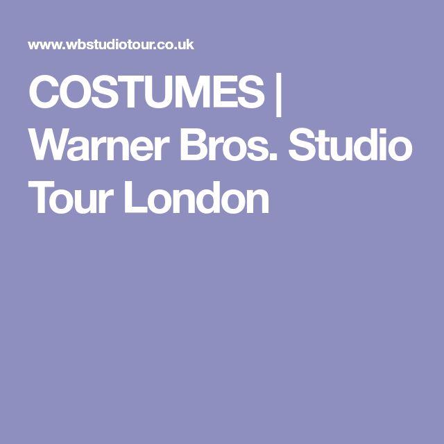COSTUMES   Warner Bros. Studio Tour London