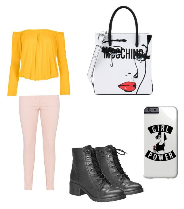 Walk the town by sweetmoegee on Polyvore featuring polyvore, fashion, style, Venus, Avenue, Moschino and clothing