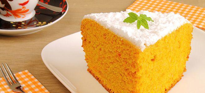 Κέικ καρότου νηστίσιμο