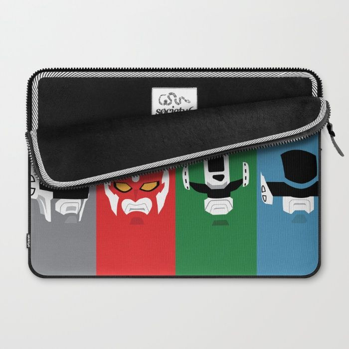 Cybercops Laptop Sleeve by Itamar Schuindt   Society6