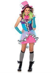 Kostuum Junior Mayhem Hatter -De Kaborij - Carnavals & Partykleding