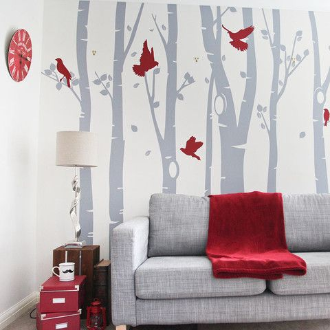 Wall Sticker tree design living room and for home